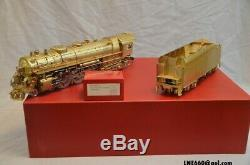 Laiton Modèles Westside 2-rail Chars New York Central Hudson-a J3 4-6-4