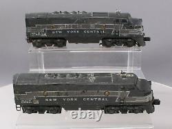 Lionel 2333 Vintage O New York Central F3 Aa Ensemble De Locomotives Diesel