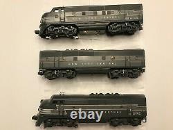 Lionel 2344 New York Central F3 Locomotive A-b-a Set 1950-52 Original Ex+