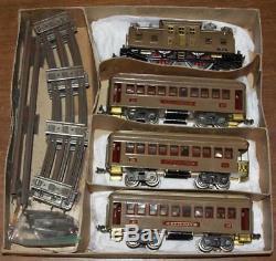 Lionel 352 Standard Gauge D'avant-guerre À New York Set Central Train Avec La Boîte