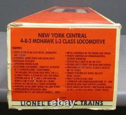 Lionel 6-18009 De New York 4-8-2 Central Mohawk L-3 Locomotive À Vapeur Et D'appel D'offres Ln