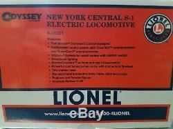 Lionel 6-18351 S1 Électrique New York Central # 100 Tmcc / Railsounds / Odyssey