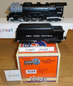 Lionel 6-84934 New York Central Hudson Lionchief Plus Steam Engine Train O Jauge