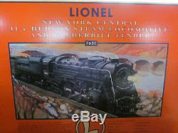 Lionel 763e New York Central J1-e Hudson Locomotive À Vapeur Et D'appel D'offres 6-18056 Nouveau