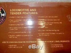 Lionel À Grande Échelle 8-85102 New York Central Vapeur Moteur -ln-train Sounds Ajouté