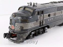 Lionel Après-guerre 2344 Nyc F3 Aa Ensemble De Locomotives Diesel Powered & Dummy O O27 1950