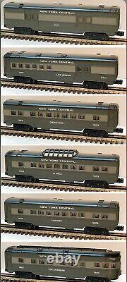 Lionel New York Central 6 Voiture Passenger Set 16016 16017 16018 16019 16020 16021