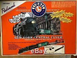 Lionel New York Central Flyer Fret Train Nouveau O-27 Échelle 6-31914