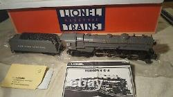 Lionel O Gauge # 6-18002 New York Central 4-6-4 Hudson C8 Unrun 1983 USA Cond