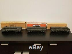 Lionel Postwar 2344 New York Central A-b-a F3 Diesel Unités Withobs