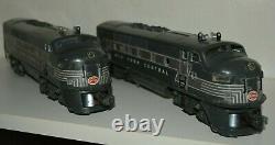 Lionel Postwar O Gauge New York Central F3 Diesel Aa Vintage Original 2344 Train