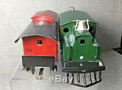 Lionel Prewar # 154 Électrique Loco, # 822 De New York Central Lines Caboose Maroon