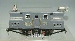 Lionel Prewar New York Central 152 Locomotive &800 Boxcar, 802 Stock, Gondola Cars