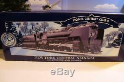 Lionel Vault 28069- Century Club De New York Échelle Centrale Niagara Vapeur Loco
