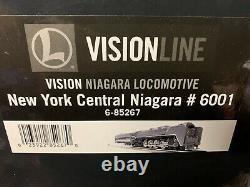 Lionel Vision Line New York Vapeur Central Niagara Engine 6-85267! Héritage Gris