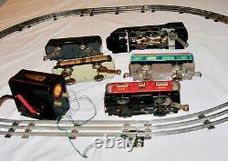 Marx #3994 Commodore Vanderbilt Ny Central Train Set Pré-wwii