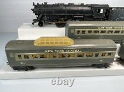 Marx Trains #333 Locomotive 2-6-2 Pacific New York Central Train Train Set O