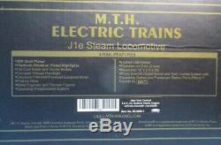 Mth 148 Chars New York Central 4-6-4 J1e Hudson # 2000 Machine À Vapeur # 20-3040-1