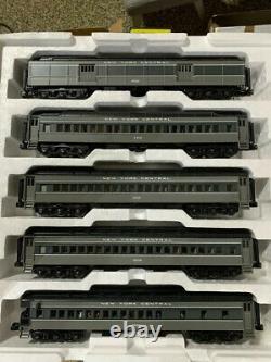 Mth 20-40001 New York Central O Scale Premier 5-car 70' Madison Passenger Set