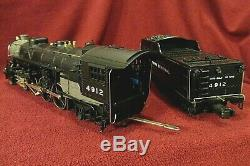 Mth 4912 New York Central 4-6-2 Pacific Steam Loco Diecast Tender Proto Fumée