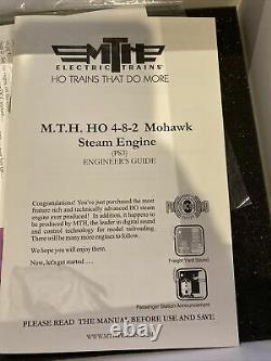Mth Ho Échelle New York Mohawk Moteur À Vapeur Central 4-8-2 #3037