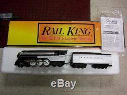 Mth O Gauge Railking De New York Empire State Central Machine À Vapeur Ps. Un 30-1143-1