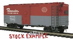 Mth Premier 20-90264 Nyc / New York Set Central 6 Wagons De Marchandises O-gauge Nib