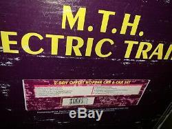 Mth Premier À New York Bay Central 2 Offset Hopper Charbon 6 Set Voiture