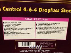 Mth Premier O Scale Nyc 4-6-4 Dreyfuss Steam Engine 20-3045-1 Nouveau Dans La Boîte
