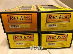 Mth Railking New York Central 4 Voitures