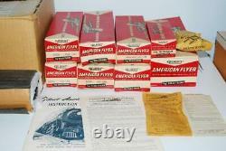 Nettoyant 1957 Américain Flyer Boxed Set 20360 Cartemaker Freight 326 Hudson Comple