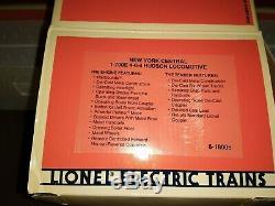 New Lionel 1-700e 4-6-4 Hudson Type De New York Nyc Central Locomotive 6-18005