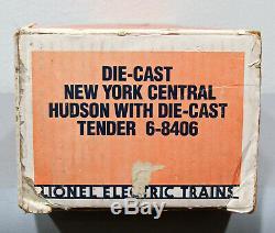 O Ga. Lionel 6-8406 N. Y. C. # 783 Semi-échelle 4-6-4 Hudson Locomotive