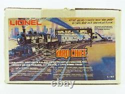 O Gauge 3-rail Lionel 6-1502 Jeu De Train En Chef De Triage Avec Étanchéité À La Locomotive À Vapeur