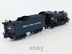 O Gauge K-line Nyc 2-8-2 Mikado Steam Train + 5 Boxcars Set Avec Tmcc & Railsounds