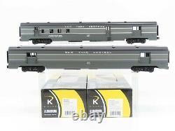 O Jauge 3-rail K-line Aluminium K4670d New York Central Passenger 2-car Set
