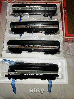 O Jauge Lionel New York Central Limited Train Set 6-31932 Avec Rail Sounds