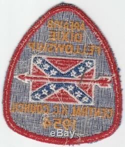 Oa 1954 Dixie Fellowship 188 Hébergé Itibapishe Iti Hollo Central Nc Ny1093