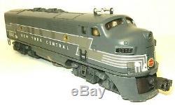 Rare Lionel Trains # 2354 New York Central F-3 Diesel 3 Boîtes & Extras Originales
