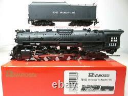 Rivarossi R5436 Ho 2-8-4 Berkshire Pere Marquette Railroad Locomotive 1222