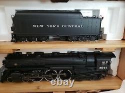 USA Trains G Scale New York Central J1e 4-6-4 Hudson #5344 Avec Cas De Bois