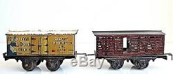 Vintage 1920 De Bing New York Central Des Lignes Train De Fer Et Tin -travailler