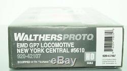 Walthers Proto Emd Gp7 De New York DCC Central Nyc Withtsunami Échelle Ho
