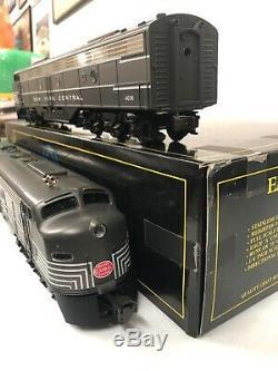 Weaver New York Central (deux Tons Gris) Emd E-8 Aa Moteur Diesel Mth Lionel Atlas
