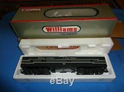 Williams E7 Aa De New York Unité Centrale B 72' Passenger Car Set Bachmann Lot Lionel
